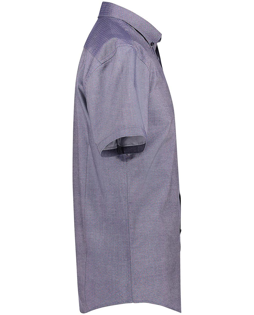 Chemises - navy - Chemise bleu gris. Next. Plus en stock. Chemise bleu gris.  imprimé floral micro 3fe88baf1920